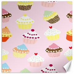 Cupcakes Wallpaper Paper Background Canvas 16  X 16
