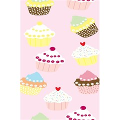 Cupcakes Wallpaper Paper Background 5 5  X 8 5  Notebooks