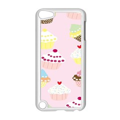 Cupcakes Wallpaper Paper Background Apple Ipod Touch 5 Case (white)
