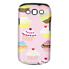 Cupcakes Wallpaper Paper Background Samsung Galaxy S Iii Classic Hardshell Case (pc+silicone)
