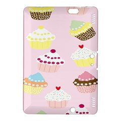 Cupcakes Wallpaper Paper Background Kindle Fire Hdx 8 9  Hardshell Case
