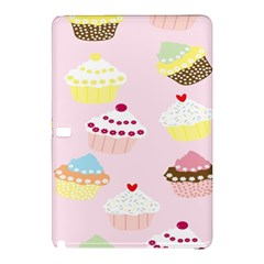 Cupcakes Wallpaper Paper Background Samsung Galaxy Tab Pro 10 1 Hardshell Case