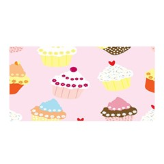 Cupcakes Wallpaper Paper Background Satin Wrap