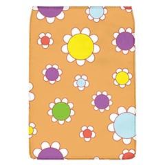 Floral Flowers Retro 1960s 60s Flap Covers (l)