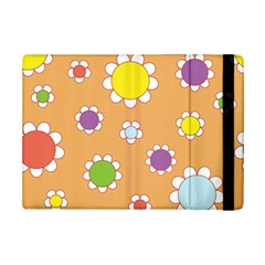 Floral Flowers Retro 1960s 60s Ipad Mini 2 Flip Cases