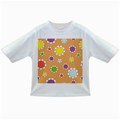Floral Flowers Retro 1960s 60s Infant/toddler T Shirts