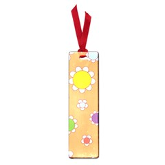 Floral Flowers Retro 1960s 60s Small Book Marks