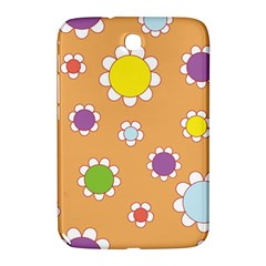 Floral Flowers Retro 1960s 60s Samsung Galaxy Note 8 0 N5100 Hardshell Case