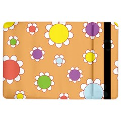 Floral Flowers Retro 1960s 60s Ipad Air 2 Flip