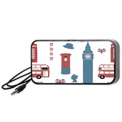 London Icons Symbols Landmark Portable Speaker