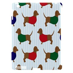 Dachshund Dog Cartoon Art Apple Ipad 3/4 Hardshell Case (compatible With Smart Cover)