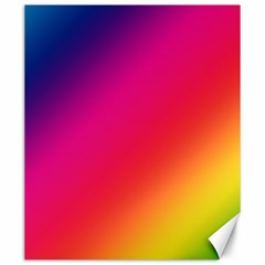 Spectrum Background Rainbow Color Canvas 20  X 24