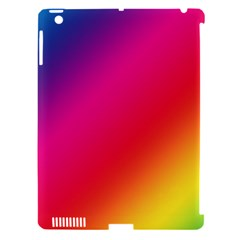 Spectrum Background Rainbow Color Apple Ipad 3/4 Hardshell Case (compatible With Smart Cover)