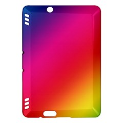 Spectrum Background Rainbow Color Kindle Fire Hdx Hardshell Case
