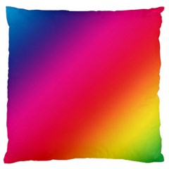 Spectrum Background Rainbow Color Standard Flano Cushion Case (two Sides)