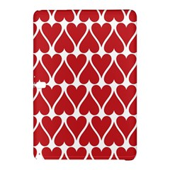 Hearts Pattern Seamless Red Love Samsung Galaxy Tab Pro 12 2 Hardshell Case