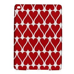 Hearts Pattern Seamless Red Love Ipad Air 2 Hardshell Cases