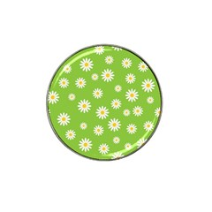 Daisy Flowers Floral Wallpaper Hat Clip Ball Marker