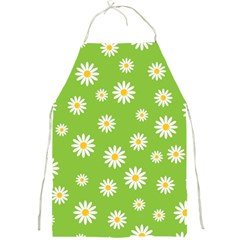 Daisy Flowers Floral Wallpaper Full Print Aprons