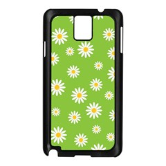 Daisy Flowers Floral Wallpaper Samsung Galaxy Note 3 N9005 Case (black)