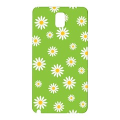 Daisy Flowers Floral Wallpaper Samsung Galaxy Note 3 N9005 Hardshell Back Case