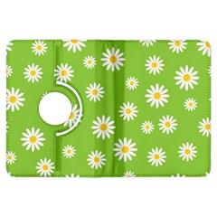 Daisy Flowers Floral Wallpaper Kindle Fire Hdx Flip 360 Case