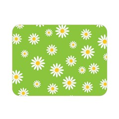 Daisy Flowers Floral Wallpaper Double Sided Flano Blanket (mini)