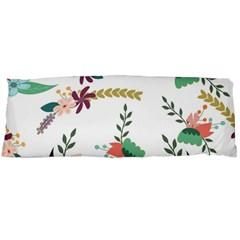 Floral Backdrop Pattern Flower Body Pillow Case (dakimakura)