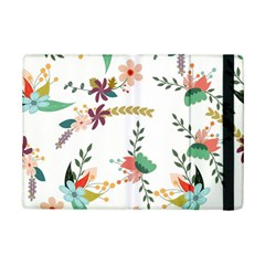 Floral Backdrop Pattern Flower Ipad Mini 2 Flip Cases