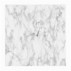 White Background Pattern Tile Medium Glasses Cloth (2 Side)