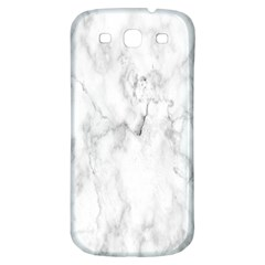 White Background Pattern Tile Samsung Galaxy S3 S Iii Classic Hardshell Back Case