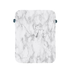 White Background Pattern Tile Apple Ipad 2/3/4 Protective Soft Cases