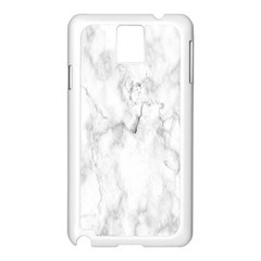 White Background Pattern Tile Samsung Galaxy Note 3 N9005 Case (white)