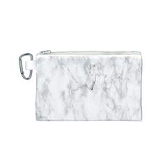 White Background Pattern Tile Canvas Cosmetic Bag (s)
