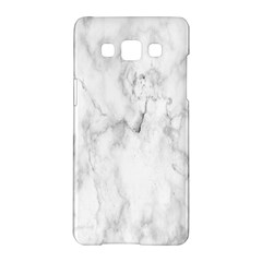 White Background Pattern Tile Samsung Galaxy A5 Hardshell Case