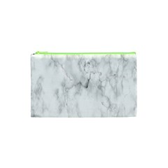White Background Pattern Tile Cosmetic Bag (xs)