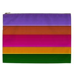 Stripes Striped Design Pattern Cosmetic Bag (xxl)