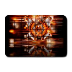 Butterfly Brown Puzzle Background Plate Mats