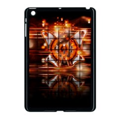 Butterfly Brown Puzzle Background Apple Ipad Mini Case (black)