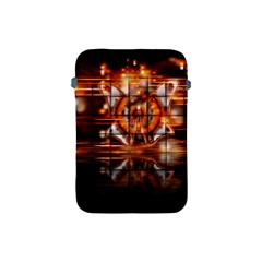 Butterfly Brown Puzzle Background Apple Ipad Mini Protective Soft Cases