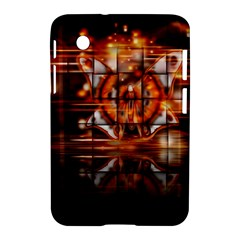 Butterfly Brown Puzzle Background Samsung Galaxy Tab 2 (7 ) P3100 Hardshell Case
