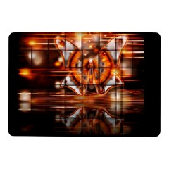 Butterfly Brown Puzzle Background Samsung Galaxy Tab Pro 10 1  Flip Case