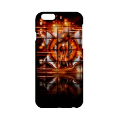Butterfly Brown Puzzle Background Apple Iphone 6/6s Hardshell Case
