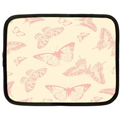 Butterfly Butterflies Vintage Netbook Case (large)