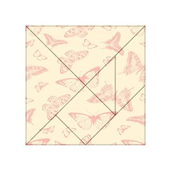 Butterfly Butterflies Vintage Acrylic Tangram Puzzle (4  X 4 )