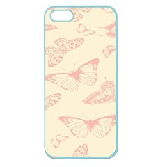 Butterfly Butterflies Vintage Apple Seamless Iphone 5 Case (color)