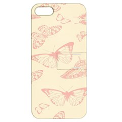 Butterfly Butterflies Vintage Apple Iphone 5 Hardshell Case With Stand