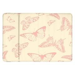 Butterfly Butterflies Vintage Samsung Galaxy Tab 8 9  P7300 Flip Case