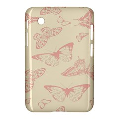 Butterfly Butterflies Vintage Samsung Galaxy Tab 2 (7 ) P3100 Hardshell Case