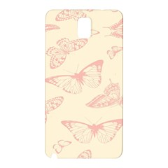 Butterfly Butterflies Vintage Samsung Galaxy Note 3 N9005 Hardshell Back Case